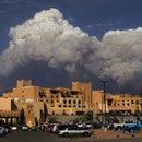 Пожар в Лос Аламосе (вид, предположительно, из Санта Фе), фото Ройтерс