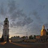 Строительство церкви Зосимы и Савватия