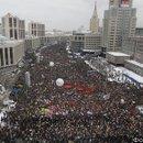Митинг на пр. Сахарова, по данным организаторов - 120 тыс. человек