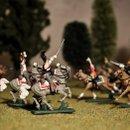 Русские кирасиры и французские драгуны Солдатики 1к72