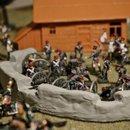 Французы в захваченном селе 1 к 72 o
