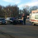Пешеход сбит на переходе у поликлиники №2