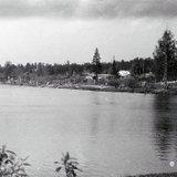 Бассейн, вид на нынешнюю ул. Бессарабенко, 1965 г.