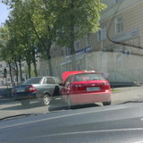 ДТП у библиотеки им. Маяковского 16 мая 2014 г.