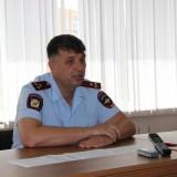 Начальник УВД В.И. Иванов отвечает на вопросы журналистов