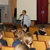 Евдокимов перед школьниками