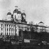 Монастырь, вид из поймы, 1945 г.