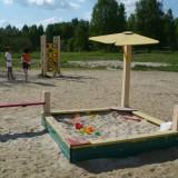 Протяжка: песочница