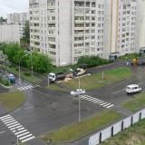 Укладка асфальта на Курчатова-2