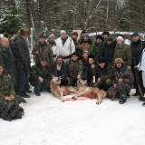 Охотники с добычей